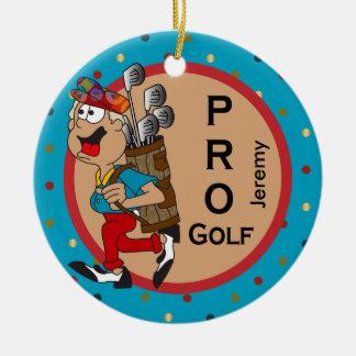 Pro Golf | DIY Text Ceramic Ornament