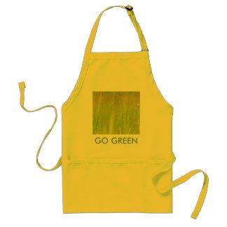 Pro green apron