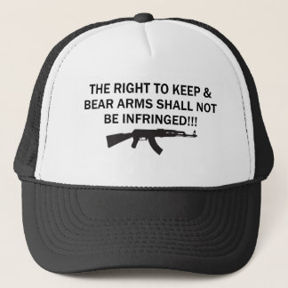 PRO-GUN 2ND AMENDMENT TRUCKER HAT