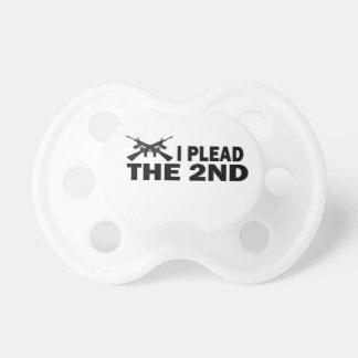 PRO GUN: I PLEAD THE 2nd Pacifier