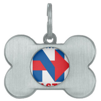 "Pro Hillary Clinton ""I'm with Nasty"" Pet Name Tag"