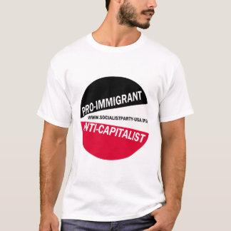 Pro-Immigrant / Anti-Capitalist T-Shirt
