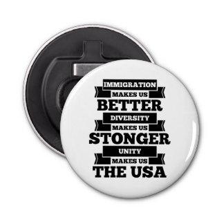 Pro immigration bottle opener