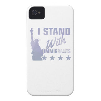 Pro immigration statue of liberty shirt Case-Mate iPhone 4 cases