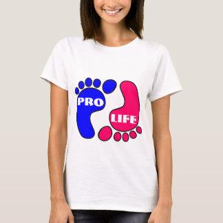 Pro life feet t-shirt
