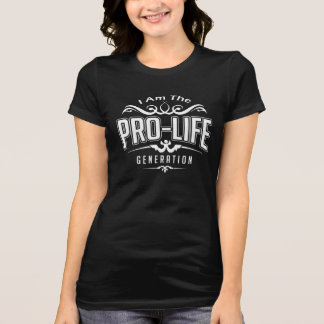 Pro Life Generation - Choose Life March T-Shirt