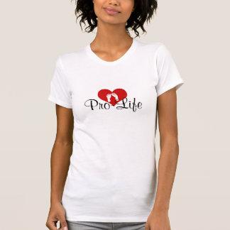 Pro-Life Heart T Shirts