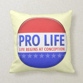 Pro Life Throw Pillows