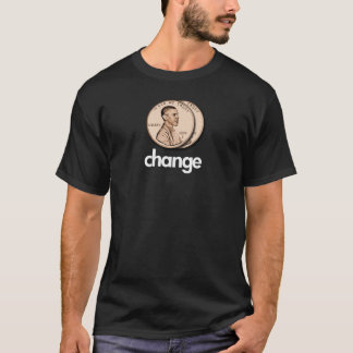 PRO OBAMA CHANGE T-Shirt