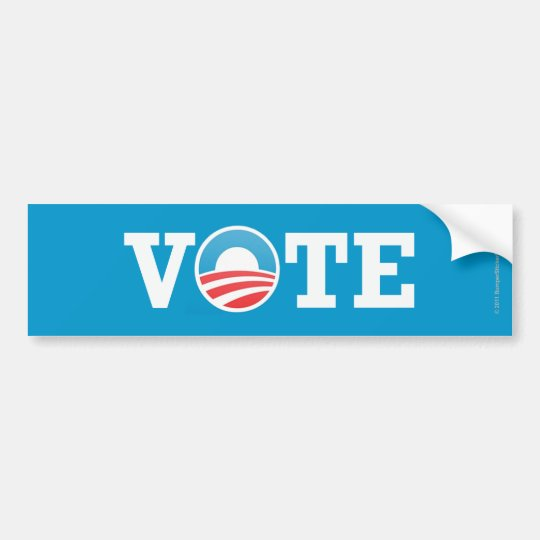 Pro-Obama sticker Vote