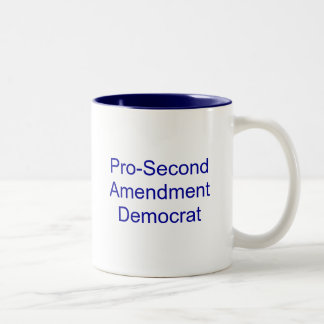 Pro-Second Amendment Democrat Mug