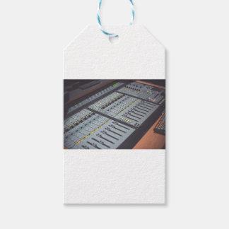 Pro Studio Music Studio Console Music Audio Studio Gift Tags