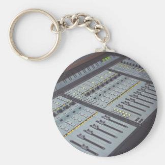 Pro Studio Music Studio Console Music Audio Studio Keychain