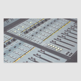 Pro Studio Music Studio Console Music Audio Studio Sticker