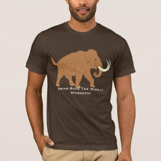 Pro T-shirt de mammouth laineux de bande dessinée