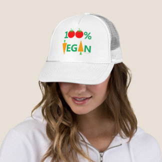 Pro Vegan Diet Cute Trucker Hat