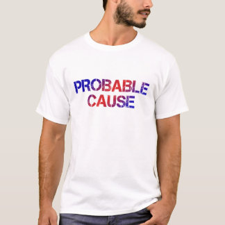 Probable Cause - Red/Blue T-Shirt