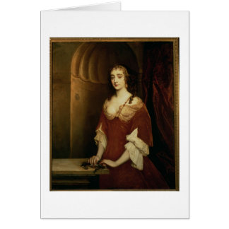 Probable portrait of Nell Gwynne (1650-87), mistre Card