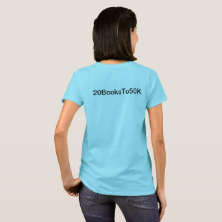 #PROBABLY T-shirt for enthusiasts of 20BooksTo50K