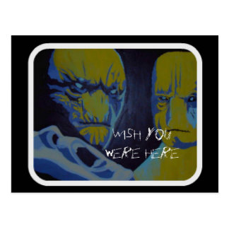 'Probe, wish you were here' Postcard