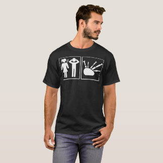 Problem And Solution Bagpipe Funny Tshirt