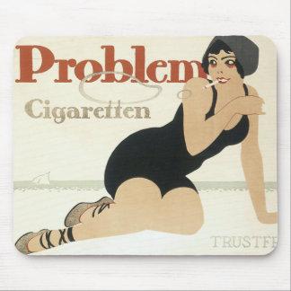 Problem Cigaretten Advertisement Mouse Pad