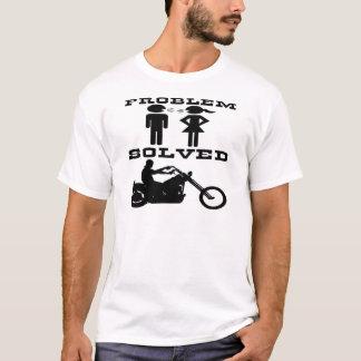 Problem Solved Biker #003 T-Shirt