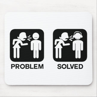Problem Solved Mouse Pad