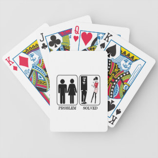 Problem solved ska bicycle playing cards