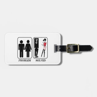 Problem solved ska luggage tag