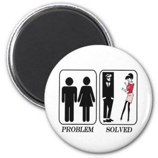Problem solved ska magnet
