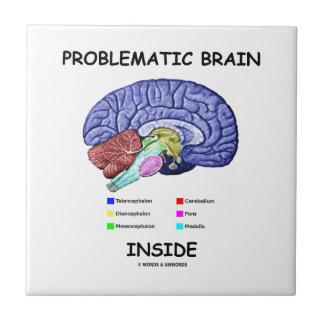 Problematic Brain Inside (Brain Anatomy) Tile