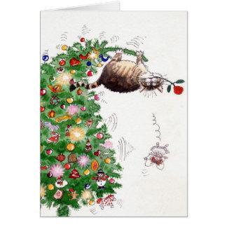 Problème de Noël Carte De Vœux