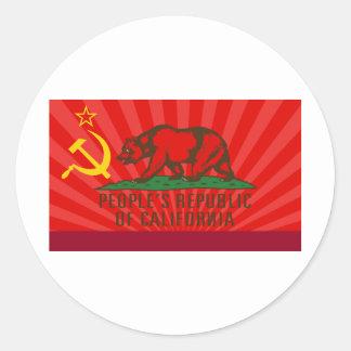 PROC Flag Round Sticker