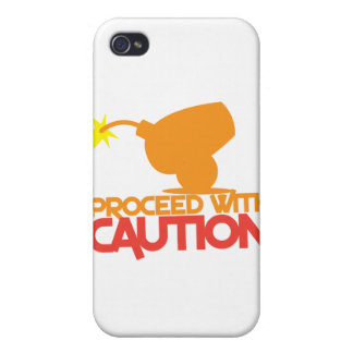 Proceed with CAUTION! bomb canon about to BLOW! Cover For iPhone 4
