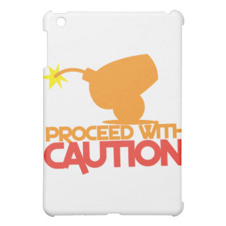 Proceed with CAUTION! bomb canon about to BLOW! iPad Mini Cases