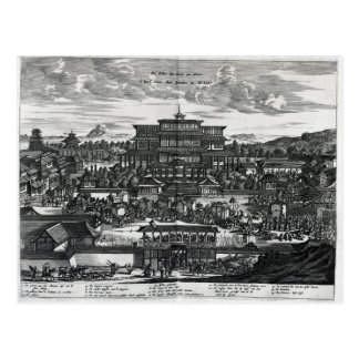 Procession from Macau, an illustration Postcard