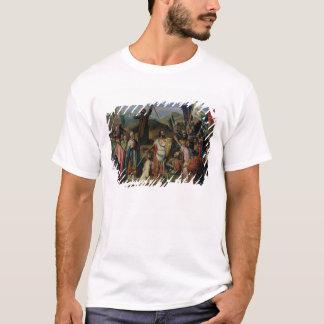 Procession of Crusaders around Jerusalem T-Shirt