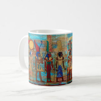 Procession of gods' coffee mug