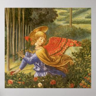 Procession of the Magi, Renaissance Angel Art Poster