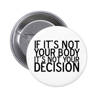 ProChoice 2 Inch Round Button
