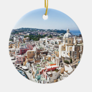 Procida Isle Ceramic Ornament