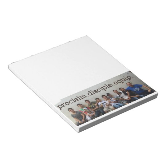 Proclaim Disciple Equip Notepad