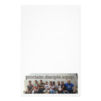 Proclaim Disciple Equip Stationery
