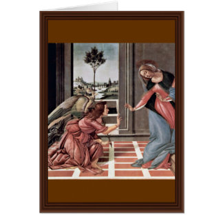 Proclamation By Botticelli Sandro (Best Quality) Card