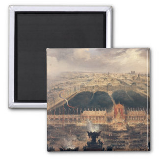 Proclamation of the Second Republic, 1848 Square Magnet