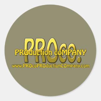 PROco Stickers! Round Sticker