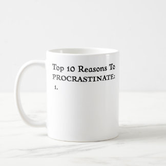 Procrastinate - Mug