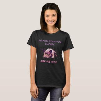 Procrastination Expert French Bulldog / Dog Art T-Shirt