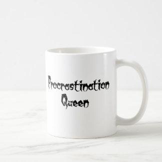 Procrastination Queen Coffee Mug